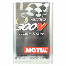 Motul 300V Competition 15W-50 Racing engine oil 5 Litres 5L