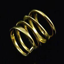 Bent Knudsen - Denmark. 14k Gold Spiral Ring - 1960s