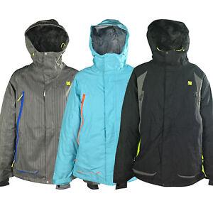 New DCShoes Mens Helix Ski Snowboard Jacket Genuine Warm Waterproof Windproof
