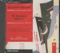 JOHANNES BRAHMS - W. AMADEUS MOZART Direttore R. Capasso CD Audio Musicale