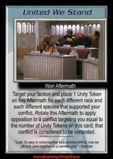 Babylon 5 CCG - United We Stand  / Wheel of Fire