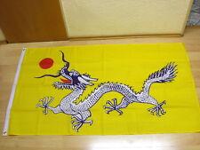 Fahnen Flagge China Drache Qing Dynastie NEU - 90 x 150 cm