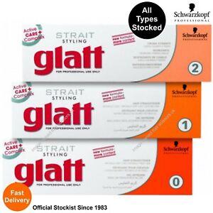 Schwarzkopf Glatt Strait Styling Professional Hair Straightener Relax ALL TYPES