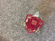 Paper Weight Red Rose Acrylic