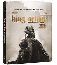 "MOVIE""King Arthur: Legend of the Sword"" Blu-ray Steelbook 2D+3D 2Disc"