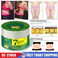 7 Days Ginger Weight Loss Body Shaping Burn Fat Cellulite Gel Slimming Cream 30g