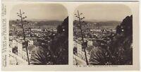 Nice Panorama Foto Stereo Stereoview di Carta Analogica Vintage
