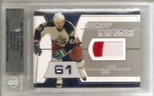 03/04 BAP ULTIMATE IN THE NUMBERS PATCH Rick Nash #7/10 2CLR
