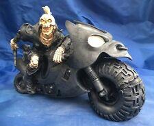Road Warrior Ornamento Nemesis Now Nuevo En Caja Esqueleto Biker