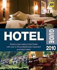 AA Publishing, AA Hotel Guide 2010 (AA Lifestyle Guides), Very Good Book