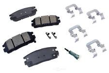 Disc Brake Pad Set-Semi-metallic Pad Kit with hardware Rear Autopartsource