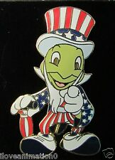 Disney Dlr Cast Mickey All American Festival Jiminy Cricket Pin *