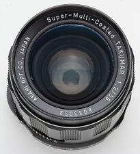 Asahi Super-Multi-Coated Takumar 35mm 35 mm 1:2 2 M42 M 42 & Digital