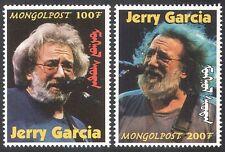 Mongolia 1998 Jerry Garcia/Rock Music/Guitar/Music/Musician 2v (n17490a)