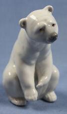 Eisbär Polarbär Lladro porzellanfigur Porzellan Tierfigur,supersüß
