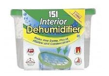 HANGING SMALL SPACE UNSCENTED MOISTURE DEHUMIDIFIER BAG CAR CARAVAN HOME DRAWERS