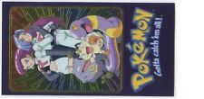 JUMBO POKEMON CARD PROMO LEAGUE TOPPS HOLO 2000 N° 3/5 TEAM ROCKET