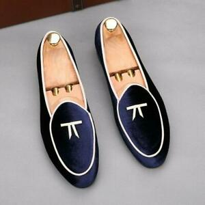 Mens Slip On Pointed Loafers Casual Moccasins Driving Youth shoes