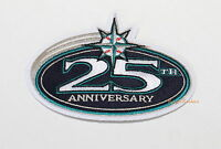 SEATTLE MARINER'S OFFICIAL 25th ANNIVERSARY MLB SLEEVE PATCH