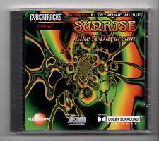 (JM986) Cybertracks Ltd NVRCD 819: Sunrise, Like A Daydream - Sealed CD