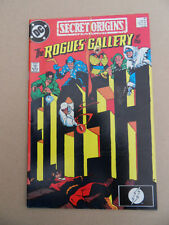 Secret Origins (vol 3) 41 . Rogues Gallery Of The Flash . DC 1989 . FN / VF