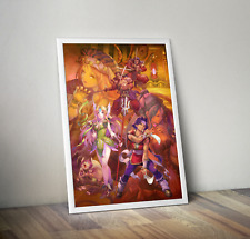 Seiken Densetsu 3 Trials of Mana Hawkeye Riesz Promotional Art Poster 18x24