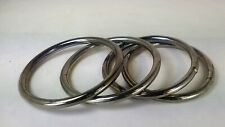 Lot of 4 -  3 Inch Heavy Welded O-Ring