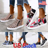 Women Camo Canvas Loafer Round Toe Casual Flat Side Zipper Single Shoes Sneakers