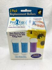 PedEgg Power 3 Replacement Rollers by BulbHead