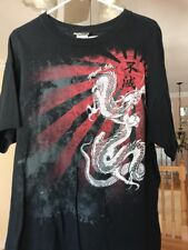 Miami Ink T-shirt Men's Dragon Black