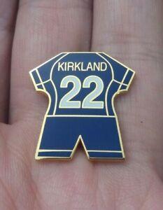 LIVERPOOL FOOTBALL CLUB KIRKLAND 22 2004 GOAL KEEPER KIT PIN BADGE VGC