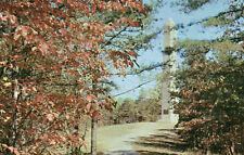 postcard USA  South  Carolina U S  Monument Kings Mountain Nat. Military park