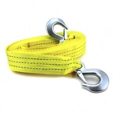 """Heavy Duty 2"""" x 20ft Tow Strap Max Capacity 10000lbs Safety Hooks Truck hauling"""