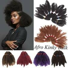 TOP BULK SALE Kinky Curly Afro Long Hair 100% Natural As Human Hair Extensions