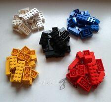 * Genuine Lego: 100 Bricks 2x2 2x3 2x4 2x6 5 Colours Ideal Starter Set