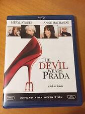 Devil Wears Prada 2006 PG-13 Blu-Ray Movie with Meryl Streep, & Anne Hathaway