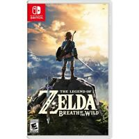 The Legend of Zelda: Breath of the Wild Nintendo Switch Brand New!