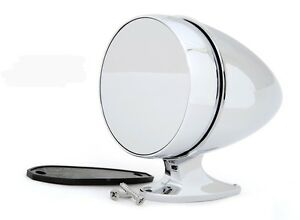 NEW! Ford Mustang Shelby Bullet Style Chrome Mirror GT350 Cobra Tiger GT500