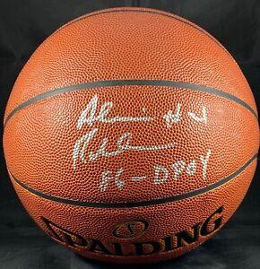 Alvin Robertson signed inscribed basketball NBA San Antonio Spurs PSA COA