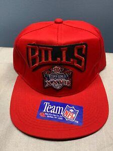 Buffalo Bills Super Bowl XXVII SnapBack Hat NOS