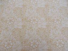 William Morris Curtain Fabric 'MARIGOLD' 2 METRES Lichen/Cowslip - Linen Mix