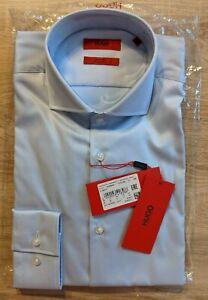 HUGO by Hugo Boss Easy Iron Formal Shirt in light blue, BNWT