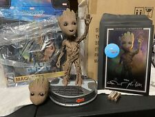 SIDESHOW BABY GROOT EXCLUSIVE MAQUETTE STATUE LIFE SIZE FIGURE GUARDIANS GALAXY