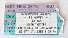 1995 Pj Harvey To Bring You My Love Tour Concert Ticket Stub Mayan Theatre La
