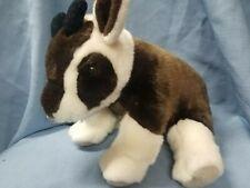 "Wild Republic Brown/White 12"" Goat Stuffed Animal Plush"