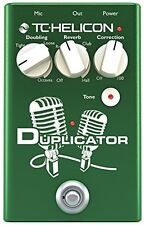 TC-Helicon*Duplicator*Electronics Vocal Effects Stompbox Pedal FREE-2DAY NEW