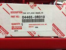 TOYOTA OEM 09-16 RAV4 Brake-Front Pads 044650R010