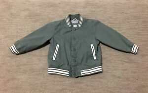 GAP Toddler Bomber Jacket Toddler Boy Size 3T Green