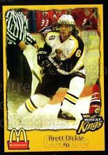2002-03 Brandon Wheat Kings #3 Brett Dickie