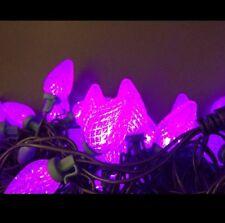 des années 1950 LED Motif Guirlande lumineuse éclairage Noël Cônes de sapin